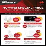 Huawei Networking WS323 Wireless Extender, ES776 USB Modem, E8278 USB Modem, WS880 Router