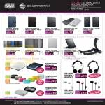 CMStorm Ban Leong Case, Folio IPhone, IPad Mini, Tablets, External Charger Power Fort, Headsets HS-500 HS-300