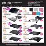 CMStorm Ban Leong Cybermind Best Denki Notebook Coolers, Notepal, Ergo
