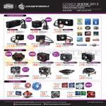 CMStorm Ban Leong Liquid Coolers Eisberg, Seidon, CPU Cooler, Case Fans