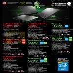 Notebooks Alienware M14X, Alienware M17X, Alienware 14, Alienware 17, Alienware 18