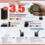 ECS Buffalo External Storage DriveStation, HD-LBU3, Velocity 2TB 3TB, Networking Wireless Routers WZR