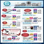 G Drive External Storage 500GB 1TB 2TB 4TB, G Raid, G Dock Thunderbolt