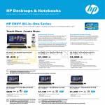 Desktop PCs ENVY 20-d038d TouchSmart, 23-d115d, 23-d118d, Pavilion 20-b118d, 23-f218d, 23-f219d