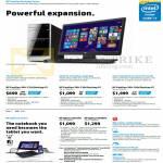 Desktop PCs Pavilion 500-135d, 500-130d, 500-160d, Split X2 M011TU, M010TU