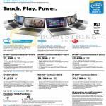 Notebooks Envy TouchSmart 14-k019tx, 14-k021tx, 14-k022tx, 15-j004tx, 15-j005tx, 15-j006tx
