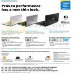 Notebooks Pavilion 14-e001TX 14-e002TX, 15-e030TX, 14-e004TX, 15-e003TX