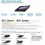 Tablet ElitePad 900 Tablet 32GB, 64GB, Accessories