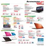 Notebooks G500s, G400s, S410p, S510p, S210 Touch, S410, U330p, Z400, Z500