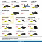 Networking Routers E1200 E2500 WRT54GL WRT160NL, Modem X1000 X3500, USB Adapters, Range Extender, Switch