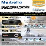 Marbella Maka GPS Newstead Car Video Recorder MX6, MX5