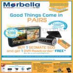 Marbella Maka GPS Newstead Geomate 500 Free DVR Roadcorder, Tutorial, Upsize Promo