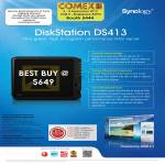 Memory World Synology NAS DiskStation DS413