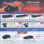 Microsoft Keyboards Scupt, Comfort, Wedge, Lifecam Webcam Studio, Comfort Mouse
