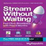 Fibre Broadband Free 6 Months, Free Services, Free ASUS Wireless Router