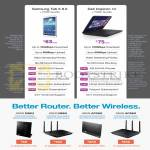 Fibre Broadband Pure, Samsung Galaxy Tab 8.0, Dell Inspiron 14 Notebook, ASUS Routers N56U N66U AC56U AC66U
