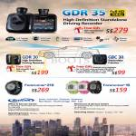 Car Video Driving Recorder GDR 30, GBC 30, Forerunner 210, 10