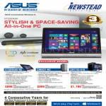 ASUS Desktop PCs AIO ET2020IUKI-NS, CM6431-NS, CM1745-A10