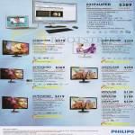 Philips Monitors 231P4UPEB, 273E3LHSB, 239C4QHSW, 237E4QHAD, 246VHLHAB, 227E4QHAD, 200V4LSB, 226V4LSB, 236V4LHAB
