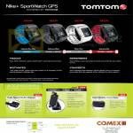Newstead TomTom Nike Plus SportWatch GPS, Accessories Charger, Mount, Carry Case