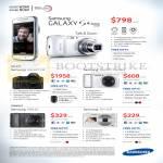 Digital Cameras Galaxy S4 Zoom, Galaxy NX, Galaxy Camera, WB250, DV150F