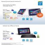 Tablets ATIV Tab 5 XE500T1C-G01SG, G02SG, XE700T1C-G01SG