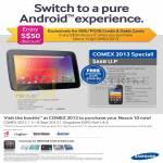 Samsung Tablets Nexus 10, DBS, POSB
