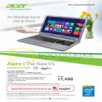 Acer Aspire V5 Notebook V5-573G-74508G50a Specifications