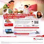 Singtel Home LiveCam Home Monitoring Service