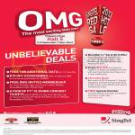 Roadshow Exclusives, Free 1GB Data, RWS Invites Membership, F1 Closing Concert Tickets, Blackberry, Sony Xperia Z, Special Number