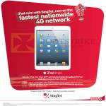 Singtel IPad Mini, Mobile Broadband 75 Plan