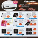 Energizer External Chargers XP1000, XP2001, XP2000A, XP1000KT, XP4003A, XP6000M A, XP8000A, XP18000A, XP1000K, XP2000K