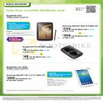 Mobile Broadband MaxMobile Samsung Galaxy Note 8.0 LTE, Tab 3 7.0, Huawei E5776