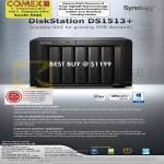NAS DiskStation DS1513 Plus