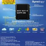 NAS DiskStation DS213
