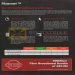 Broadband Fibre 400Mbps, Comparison Table, Features