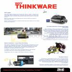 Thinkware Car Video Recorder Features GPS Logger, HD Recording, Motion Detection