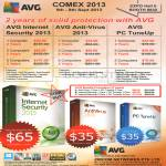 AVG Security Software, Internet Security 2013, Anti-Virus 2013, PC TuneUp