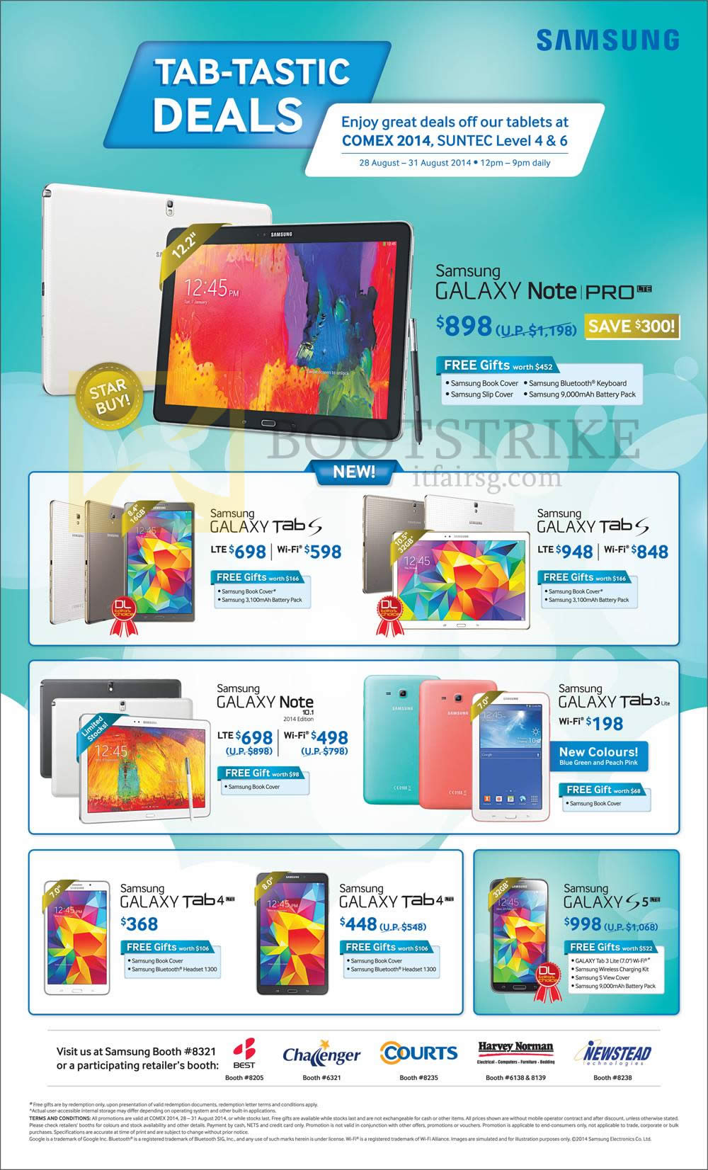 Smartphones tablets accessories galaxy s5 tab s 10 5 8 for O tablet price list 2014