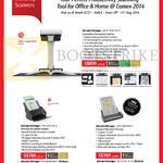 Fujitsu Scansnap Scanners SV600, IX500, S1300i