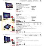 AIO Desktop PCs ET2321INTH-B026Q, ET2321INTH-B0250, ET2311INTH-B005Q, B006Q, ET2301INTH-B010K, ET2702IGTH-B036K