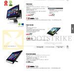 AIO Desktop PCs Transformer P1801-B184K, P1801-B075K, P1801-T-B015M, ET2221INTH-B009Q