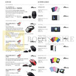 Accessories Mouse, Covers, Bags, ROG Gaming Mouse, Laser, Transcover, Tricover, Persona