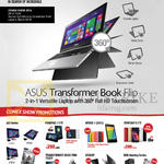 Comex Show Promotions AIO Series, Fonepad 7, Transformer Book, Nexus 7, Zenfone 5, ROG Gaming Series