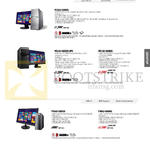 Desktop PCs M7QAD-SG002S, M51AC-SG002S-UPS, M51AD-SG002S, P30AD-SG003S, P30AD-SG004S