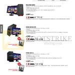 Desktop PCs ROG Gaming Series G30AB-SG005S, G10AC-SG01OS-UPS, G10AC-SG011S