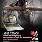 Notebook X550DP Gaming