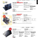 Notebooks Zenbook Ultra Slim Series UX301LA-DE022H, UX302LG-C4002H, C4006H, UX32LA-R3014H, UX32LN-R4016H, K451LN-WX005H, WX154H, K Series K551LN-XX201H, XX021H