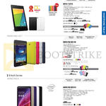Tablets Nexus 7 2013, Memo Pad ME173X, ME181C, Memopad HD 8