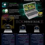 Notebooks XG17-V2, XG15-V3, XG13-V2